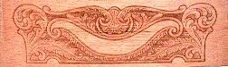 Early American embossing pattern