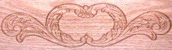 Victorian embossing pattern
